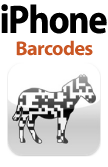 Barcodes for iPhone